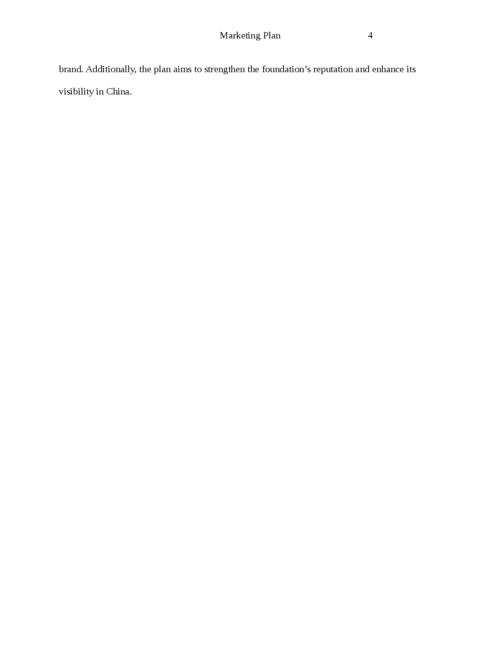 The strategic global marketing plan - Page 4