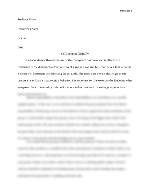 Collaborating Ethically - Page 1