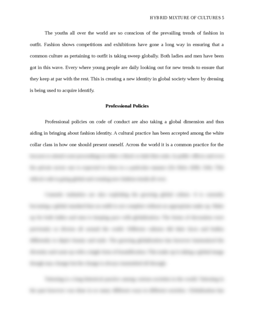 Hybrid mixture of cultures - Page 5