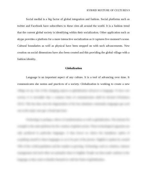 Hybrid mixture of cultures - Page 9