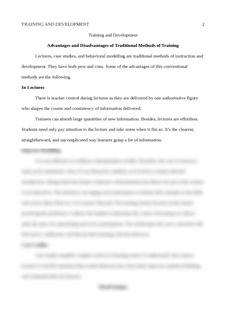 Training and Development - Page 2