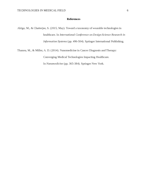 Technologies in Medical Field - Page 6