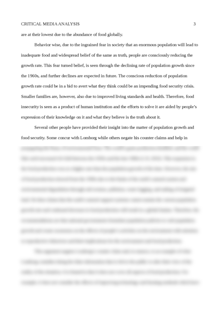 Critical Media Analysis - Page 3