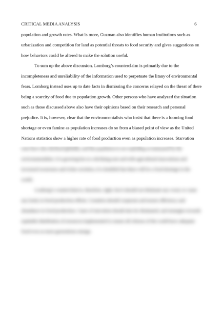 Critical Media Analysis - Page 6