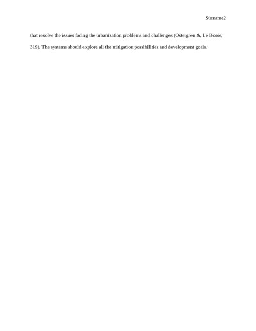 Essay on European urbanization - Page 2