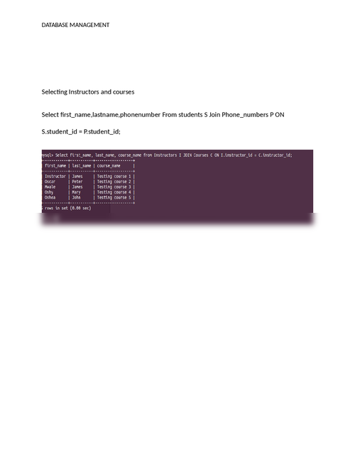 Sql- Student database creation - Page 6