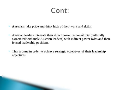 Global leadership: Austria - Page 9