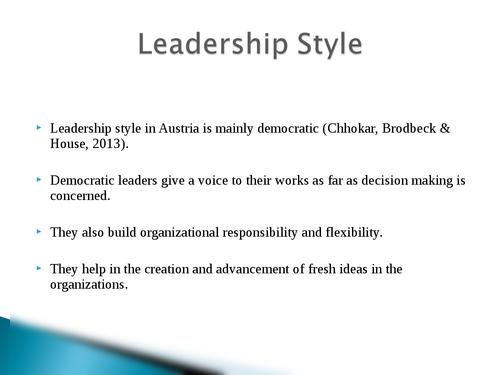 Global leadership: Austria - Page 10