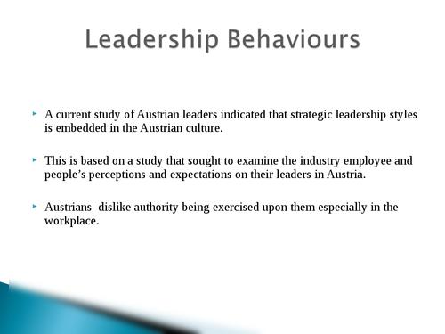 Global leadership: Austria - Page 8