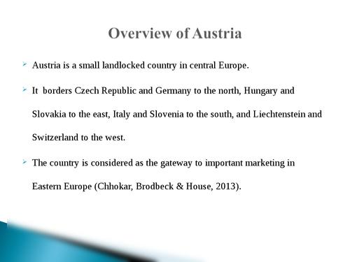 Global leadership: Austria - Page 2