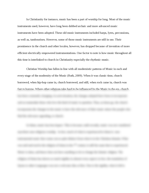 Music used in Religion in Anthropology - Page 3