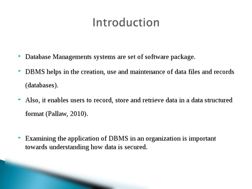 Database Management Systems (DBMS) - Page 2