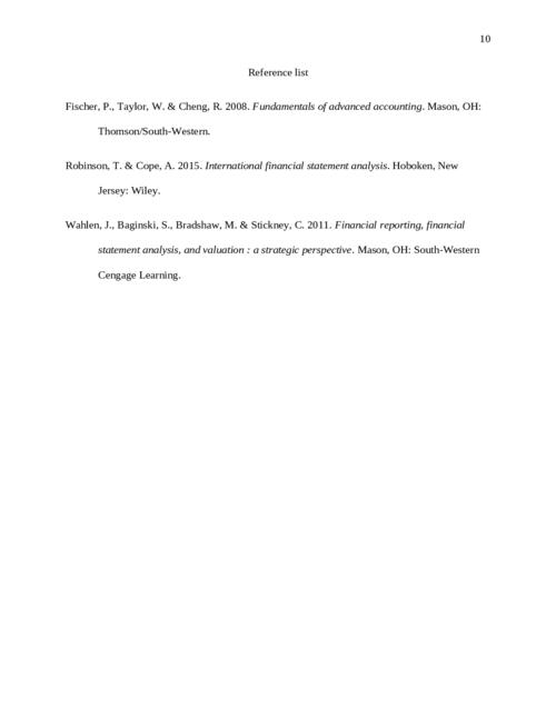 Advanced Accounting B326 - Page 10