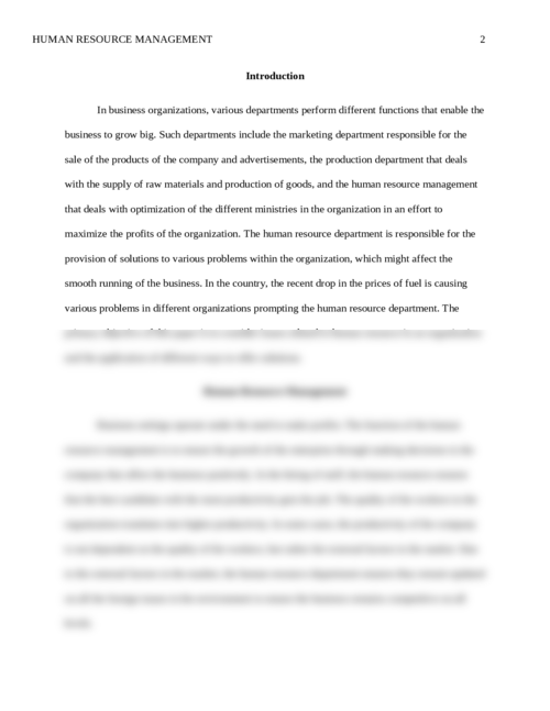 HR305: HR ISSUE RESEARCH PAPER AND PRESENTATION PROJECT - Page 2