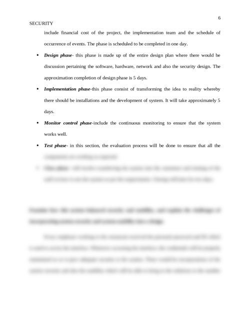 Case Study 3: Security - Page 6