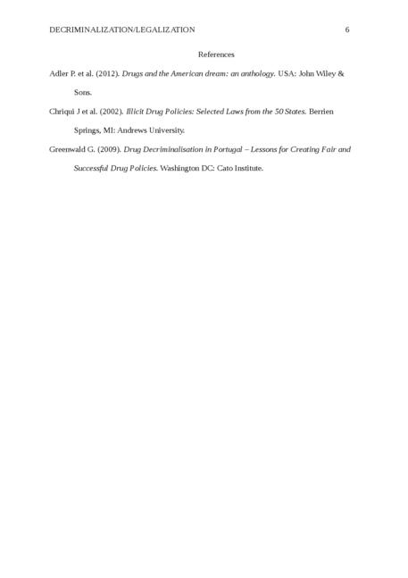 Decriminalization/Legalization - Page 6