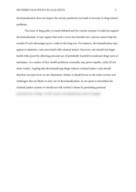Decriminalization/Legalization - Page 5