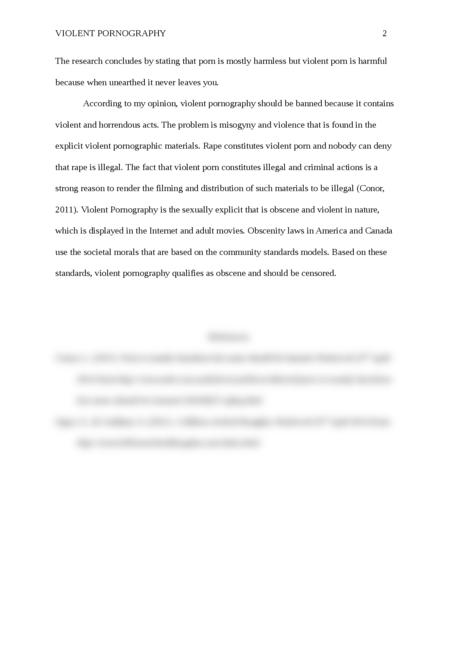 Violent Pornography - Page 2