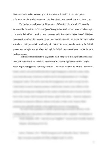 Immigration Reform in America - Page 4