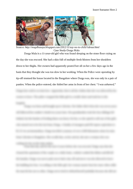 Child Slavery in India - Page 2