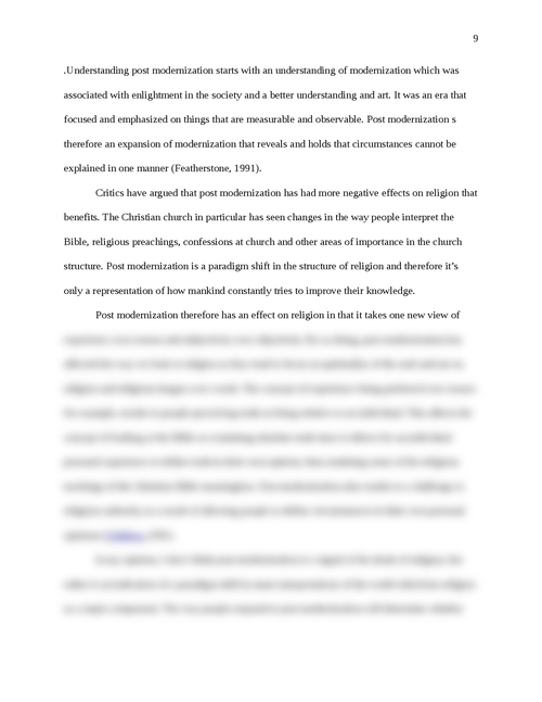 Study of Religion Learning Journal - Page 9