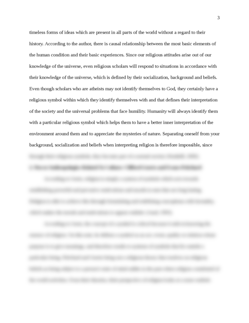 Study of Religion Learning Journal - Page 3