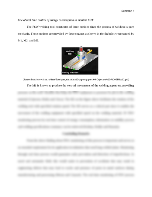 Contributions to the Development of Friction Stir Welding Process - Page 7