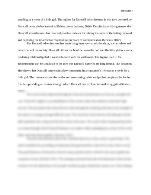 Analysis of three print advertisements - Page 4