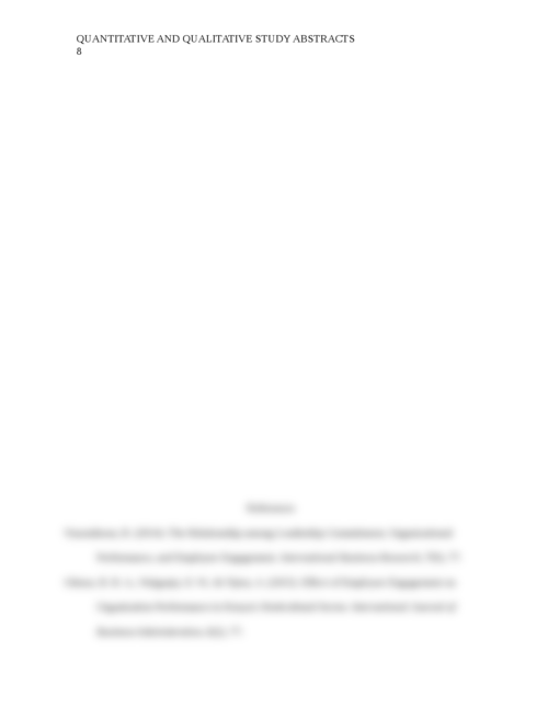 Quantitative and Qualitative Study Abstracts - Page 8