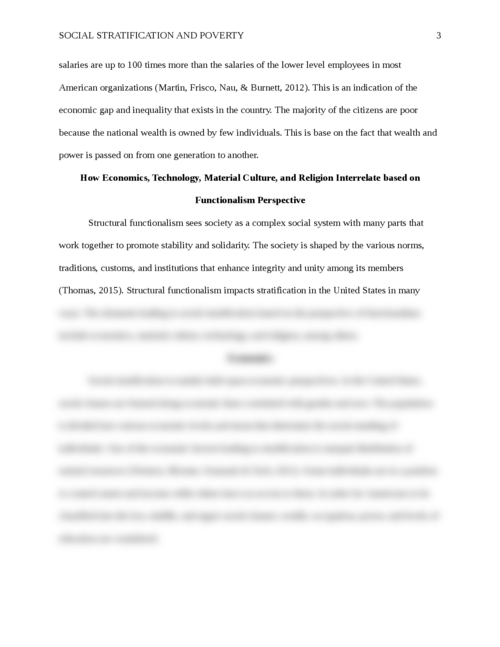 Social Stratification and Poverty - Page 3