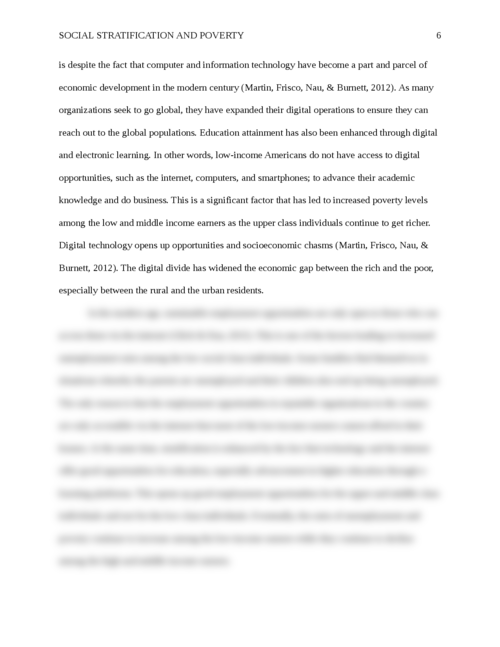Social Stratification and Poverty - Page 6