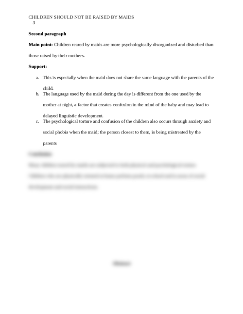 Children Should Not Be Raised By Maids - Page 3