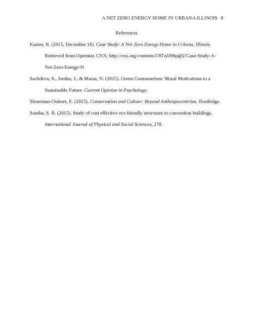 Case Study Proposal: A Net Zero Energy Home in Urbana Illinois - Page 8