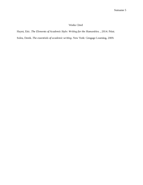 Reflection essay: Self Evaluation - Page 5