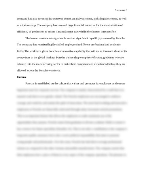 Porsche Strategic Report - Page 6