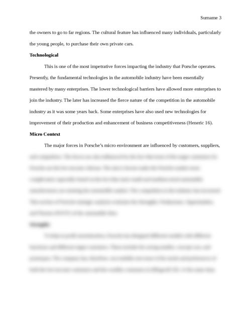 Porsche Strategic Report - Page 3