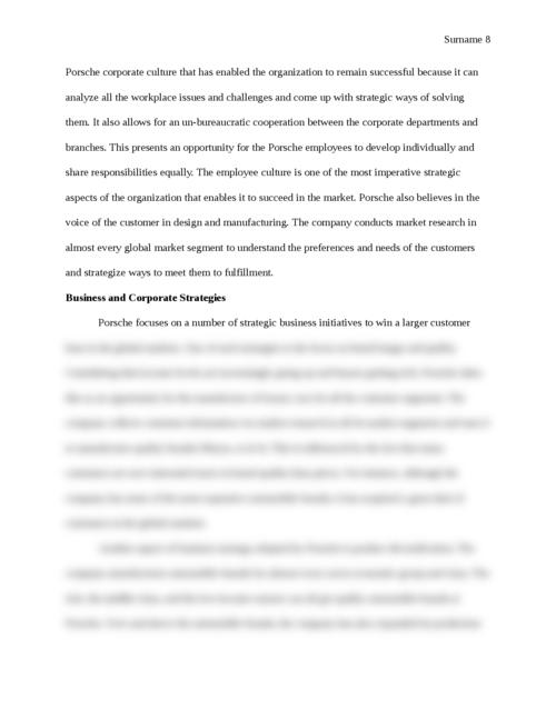 Porsche Strategic Report - Page 8
