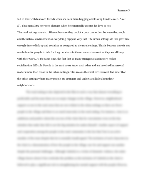 Planning Issues in 'As it is in Heaven' Movie - Page 3