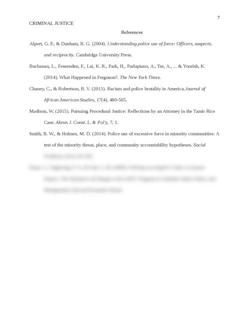 Criminal Justice: Police Brutality - Page 7
