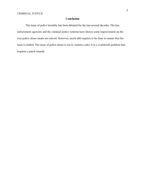 Criminal Justice: Police Brutality - Page 6