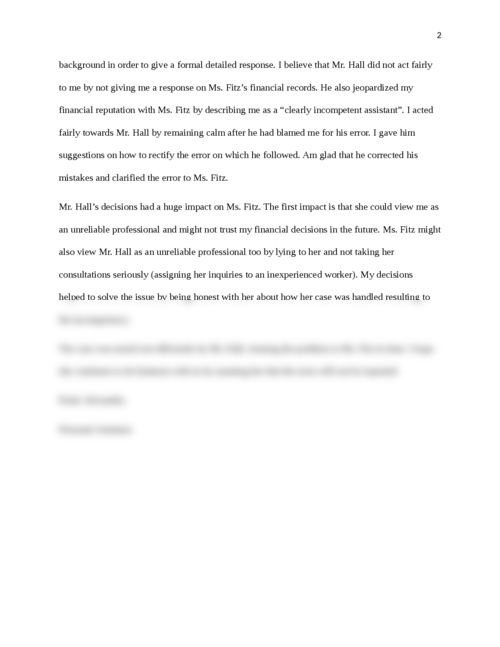 Communication and Ethical Reasoning in Business - Page 2