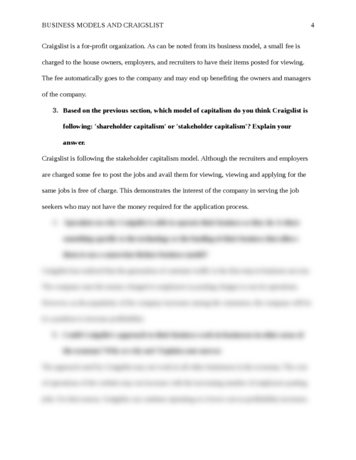 Business Models and Craigslist - Page 4