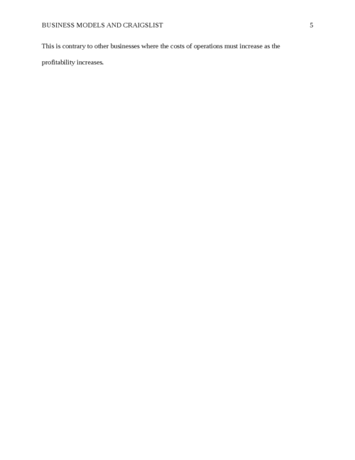 Business Models and Craigslist - Page 5