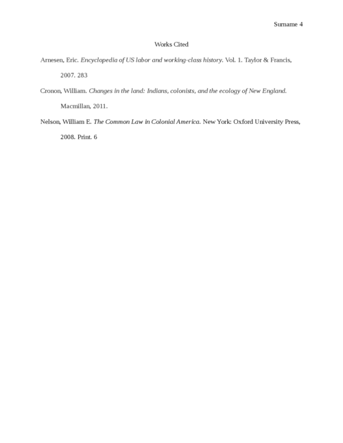 Comparing and Contrasting the New England Colony and the Middle Colony - Page 4