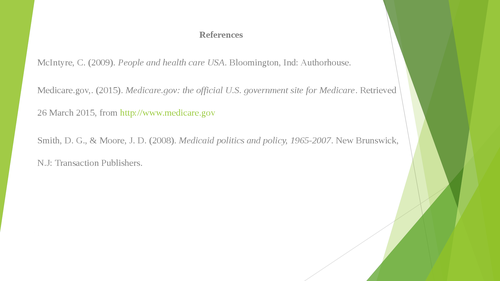 Historical Perspective: Medicare and Medicaid - Page 7