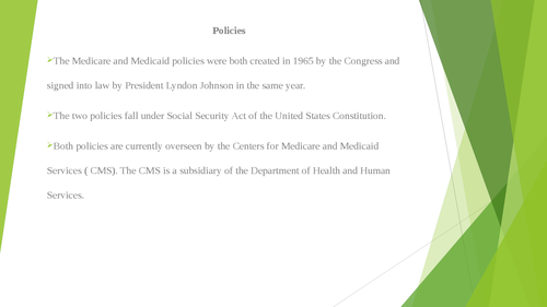 Historical Perspective: Medicare and Medicaid - Page 5