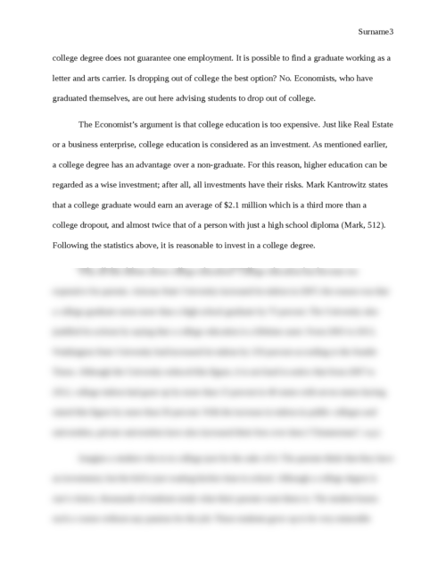 Commencement Speech: The Value of a College Degree - Page 3