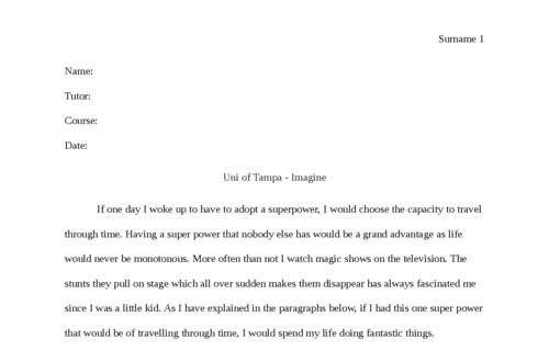 uni of tampa - Imagine