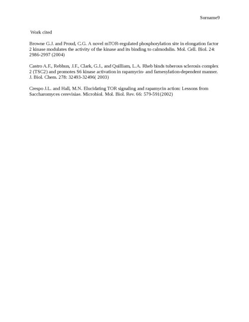 mTOR and Rapamycin - Page 9