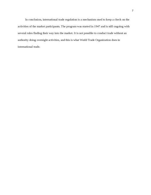 Why did WTO replace GATT - Page 7